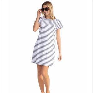 Sail to Sable Striped Dress NWT